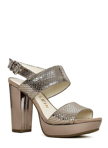 Anne Klein Sandalet Gümüş